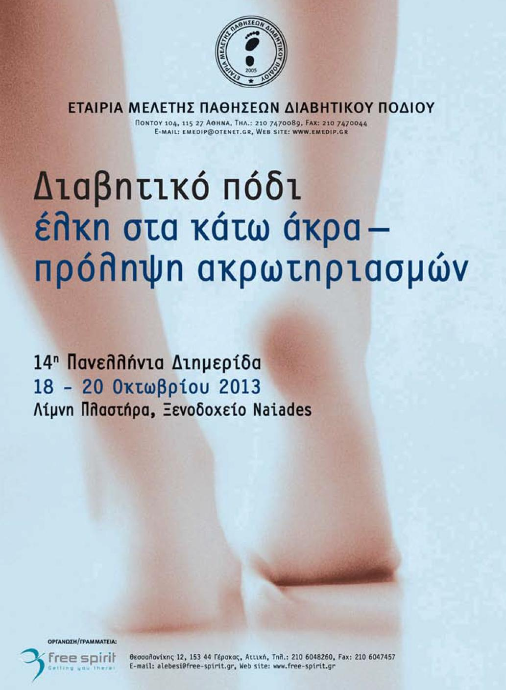 14th Panhellenic Meeting of the Hellenic Association for the Study of Diabetic Foot Disease