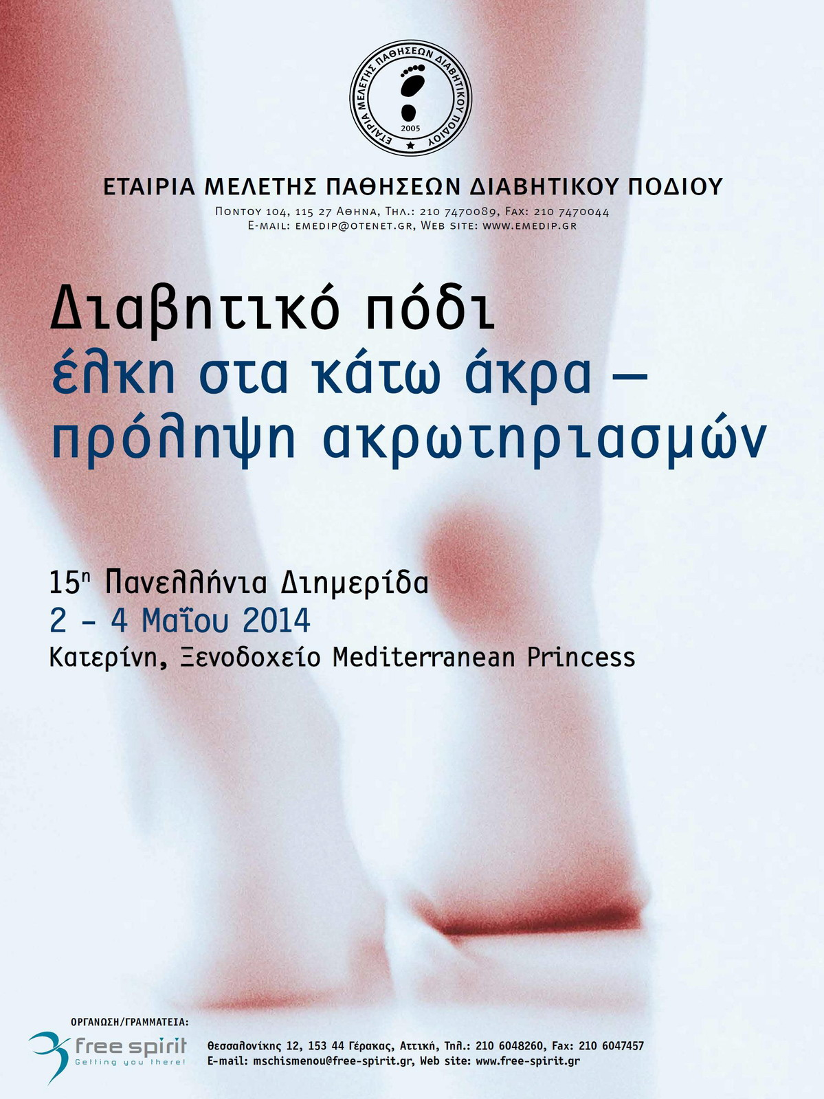 15th Panhellenic Meeting of the Hellenic Association for the Study of Diabetic Foot Disease