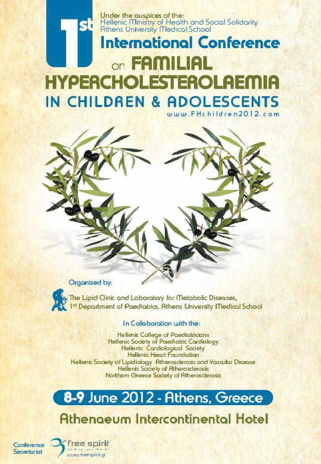 1st International Conference on Familial Hypercholesterolaemia in Children & Adolescents