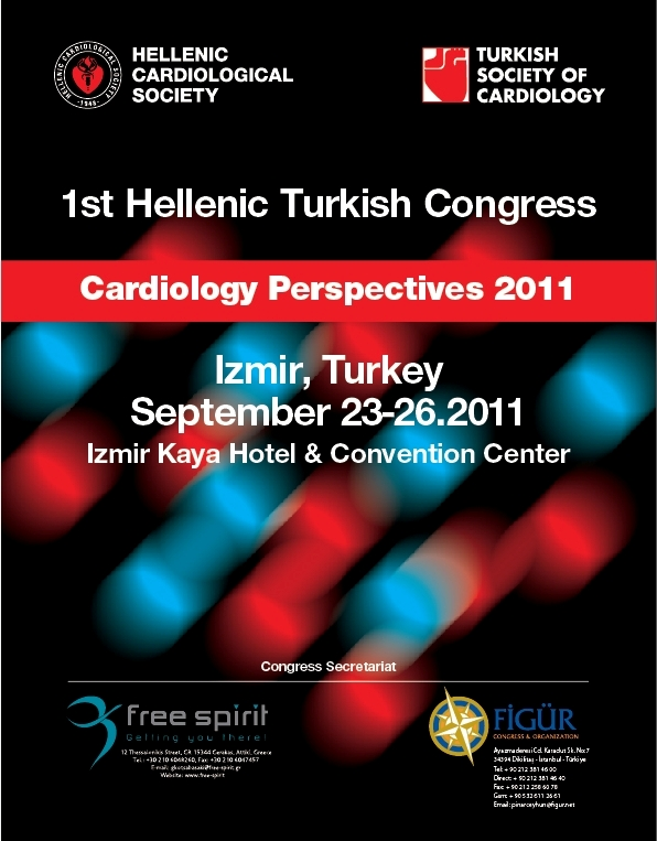 1st Hellenic Turkish Congress Cardiology Perspectives 2011