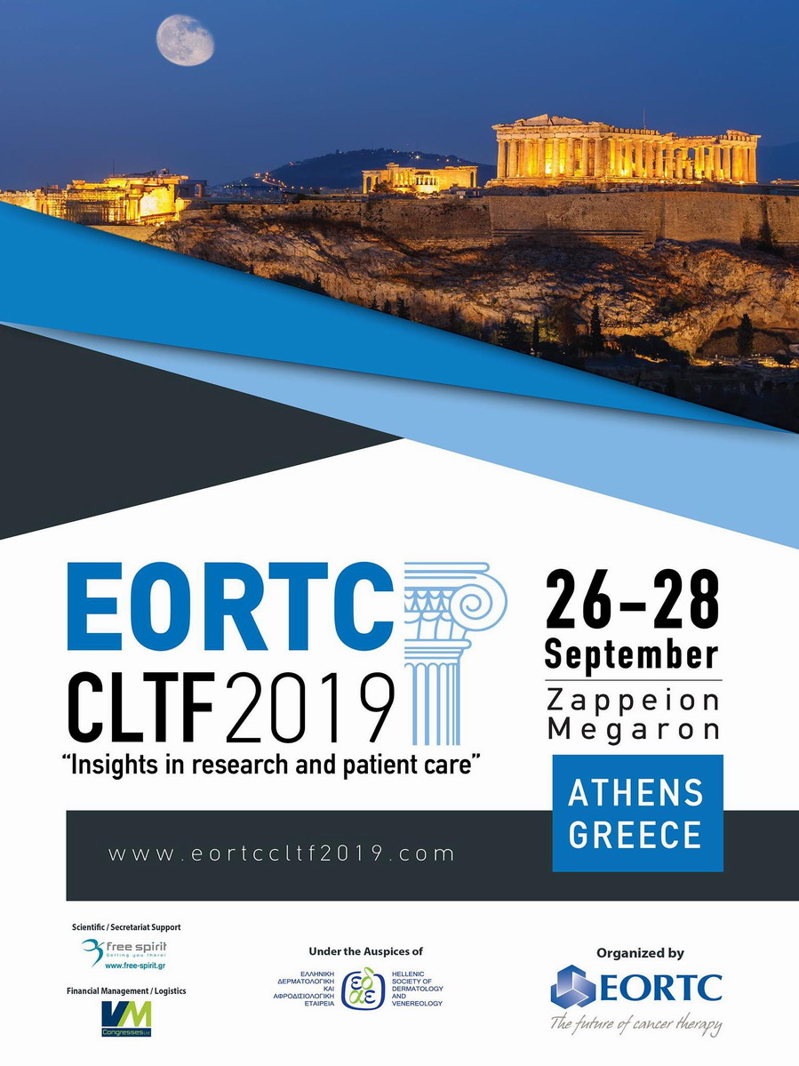 """EORTC CLTF 2019 """"Insights in research and patient care"""""""